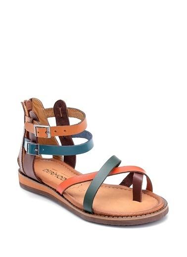Derimod Kadın Sandalet (Ac221) Casual Renkli